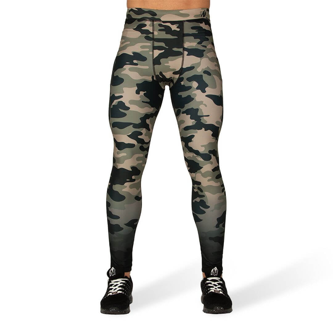 Franklin Mens Tights Army Green Camo
