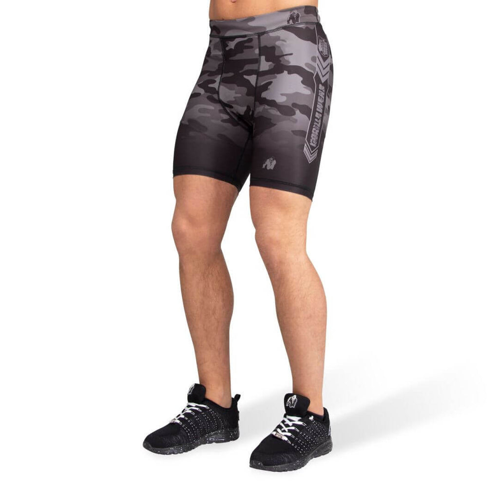 Franklin Shorts Black Grey Camo