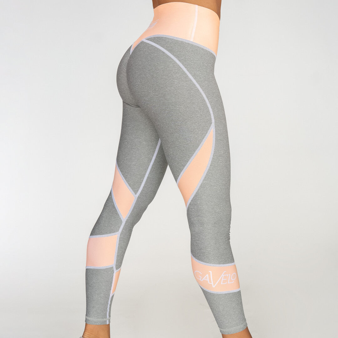 Gavelo Peach Swirl Tights