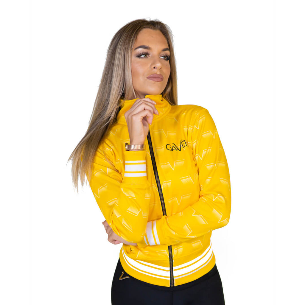Gavelo Track Jacket Lemon