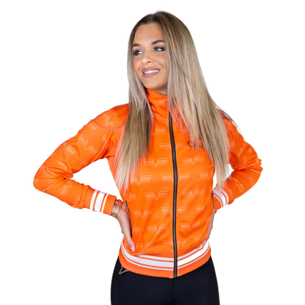 Gavelo Track Jacket Orange