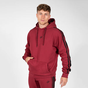 gorilla-wear-banks-oversized-hoodie-burgundy