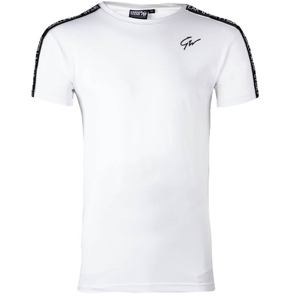 Chester T-Shirt white/black