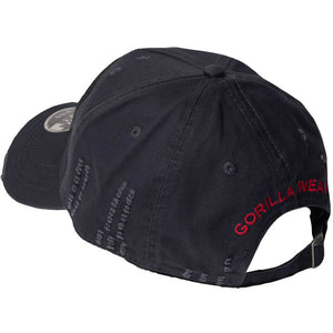 Harrison Cap Black Red
