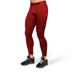 Smart Tights burgundy red