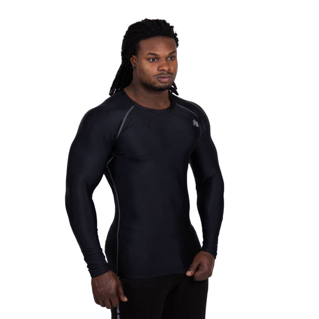 Hayden Compression Longsleeve Black Grey