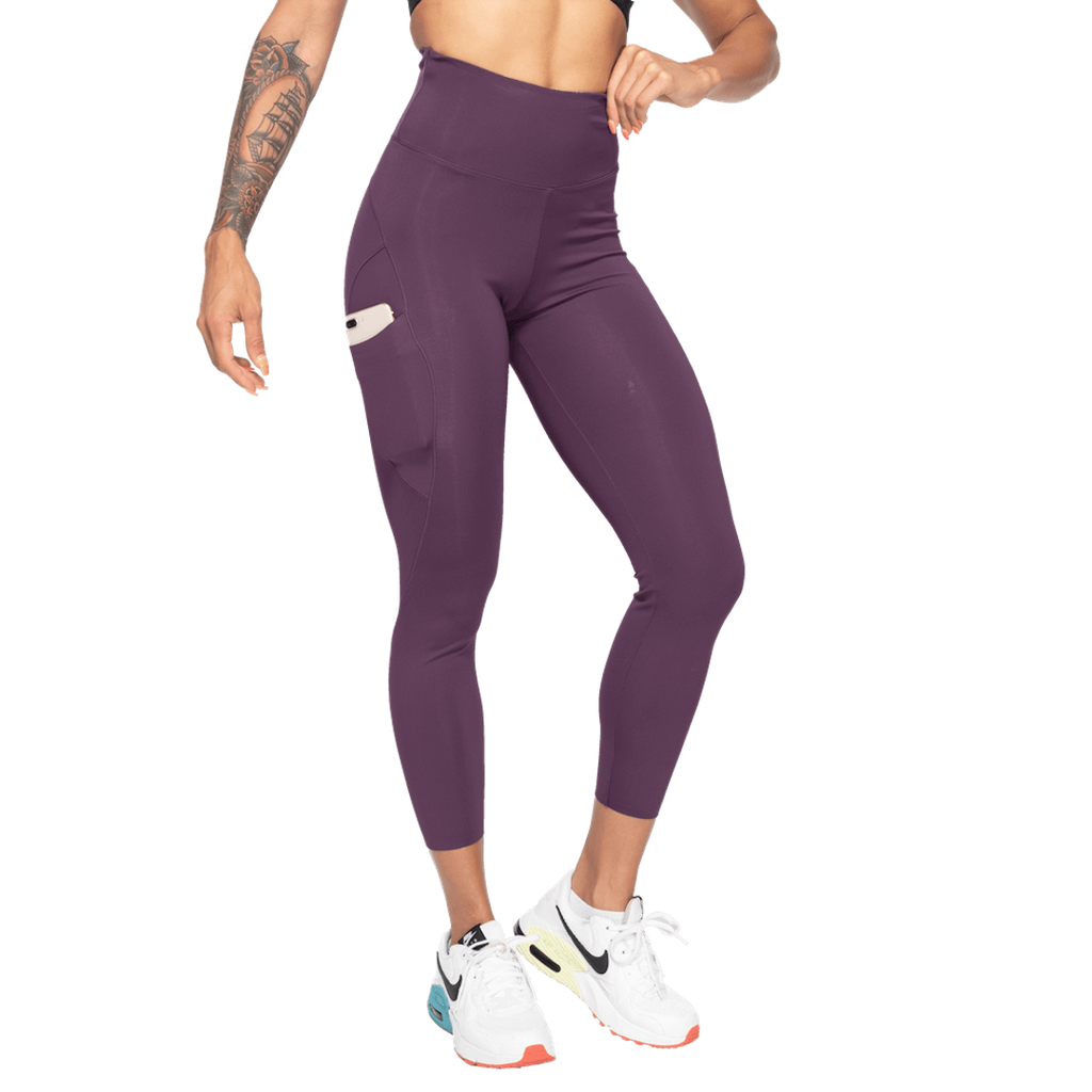 High Waist Leggings Royal Purple