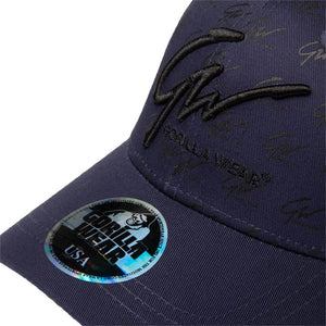 Julian Cap Navy Blue Black