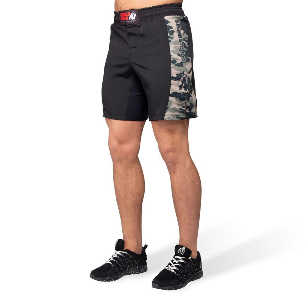 Kensington Mma Fightshorts Army Green Camo