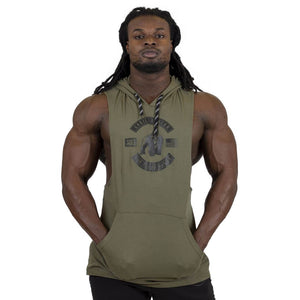Lawrence Hooded Tank Top Army Green