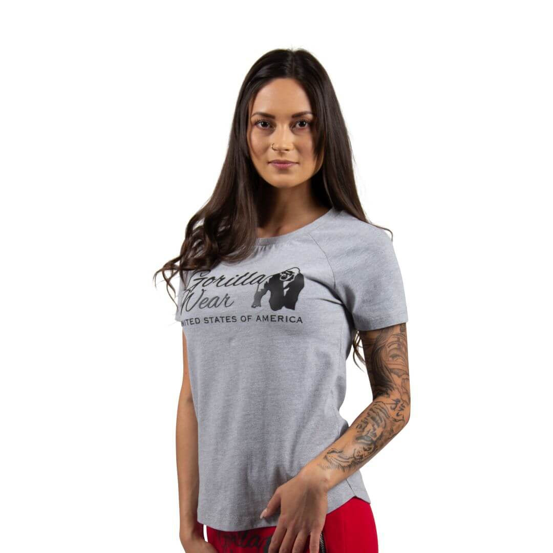 Lodi T Shirt Light Grey