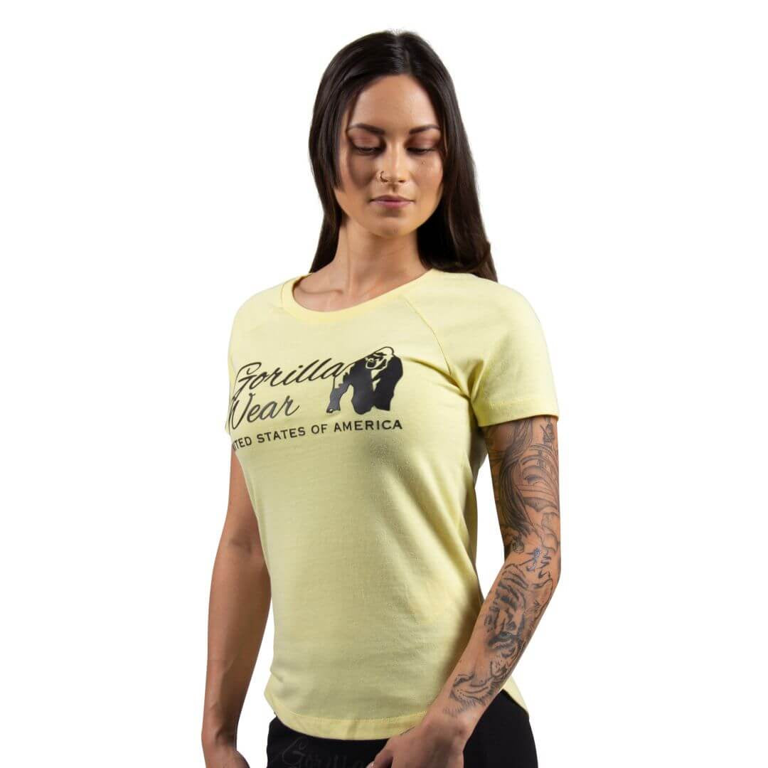 Lodi T Shirt Light Yellow