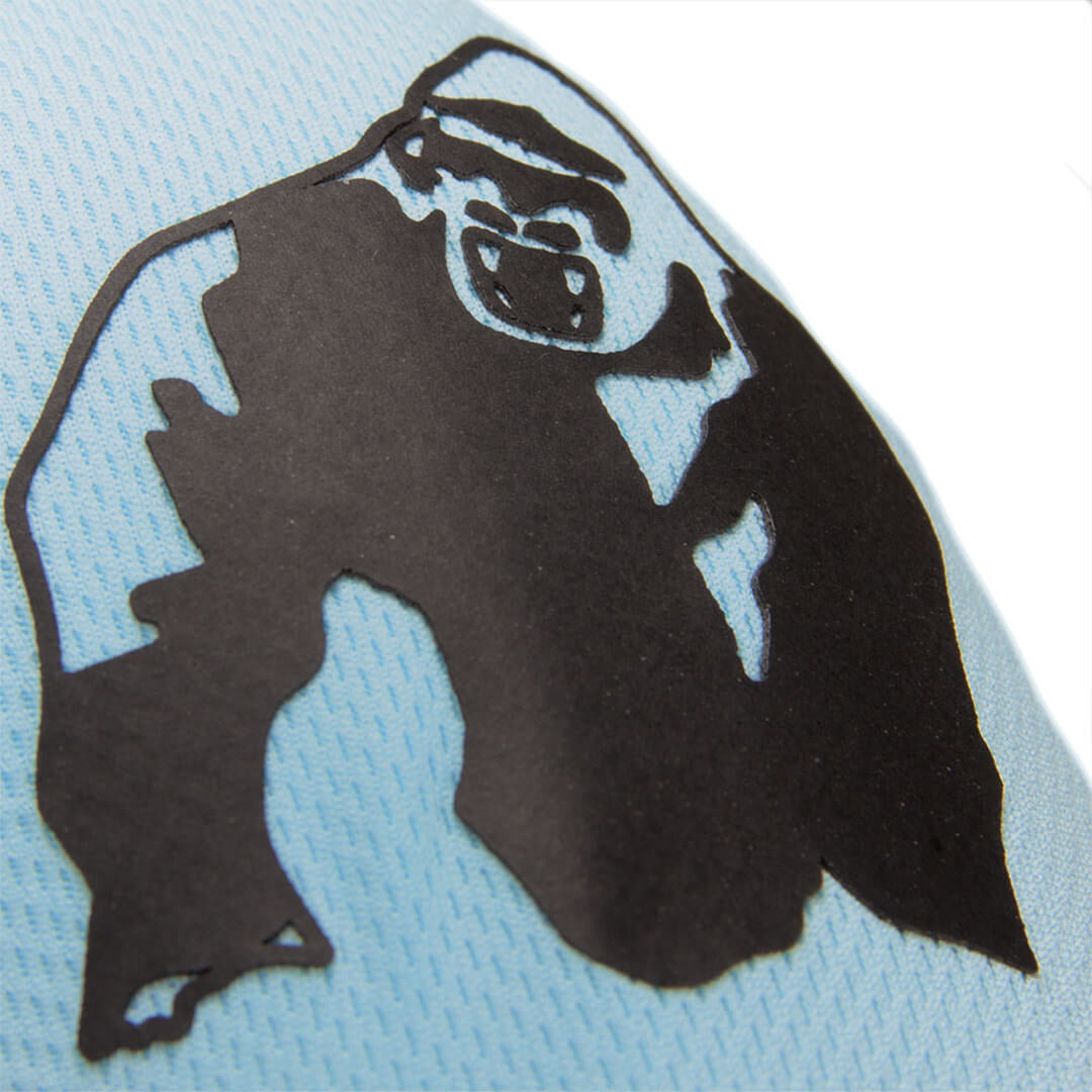 Athlete T-Shirt 2.0 Gorilla Wear black/light blue