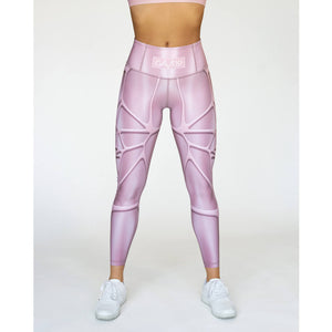 Front Gavelo MarvelLizzy Compression Leggings Pink