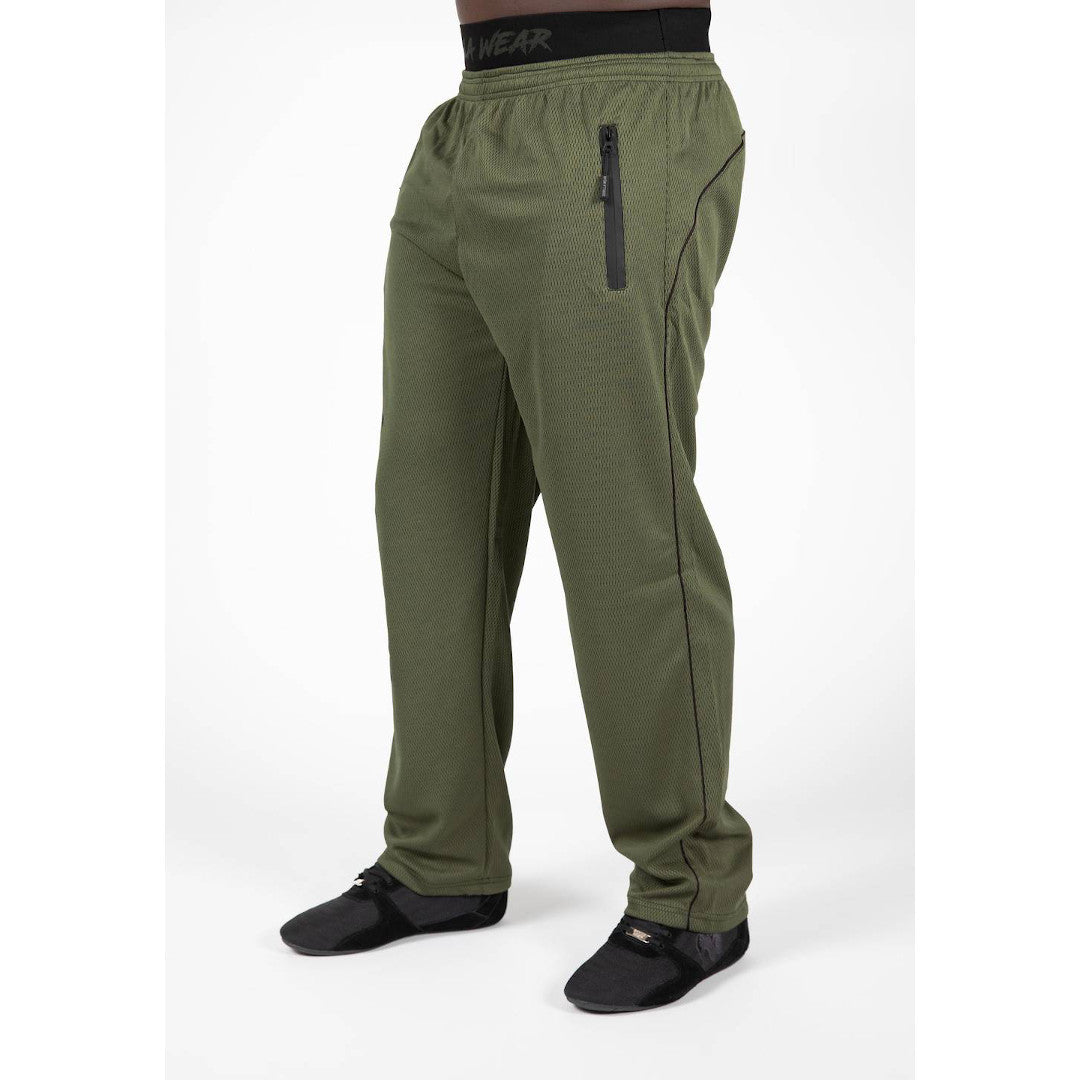 Mercury Mesh Pants army green/black