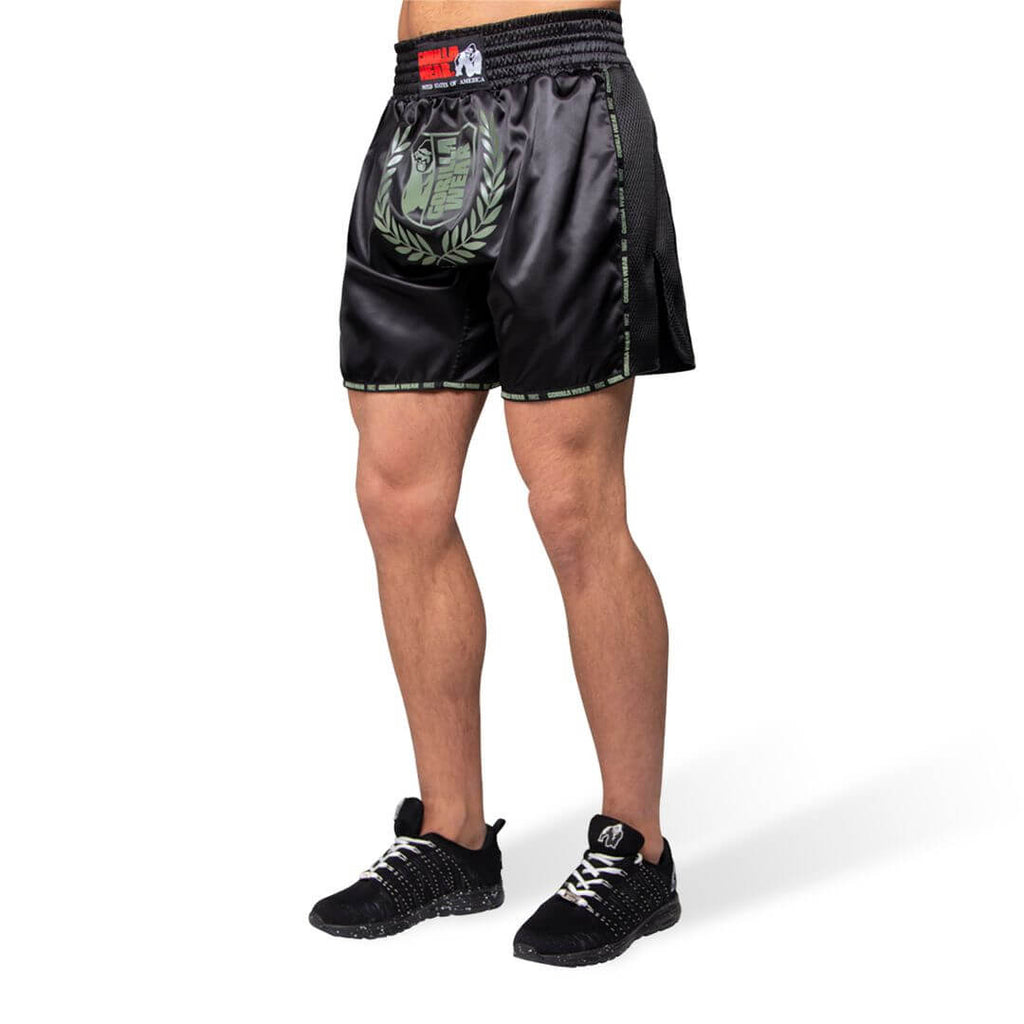 Murdo Muay Thai Kickboxing Shorts Army Green Camo