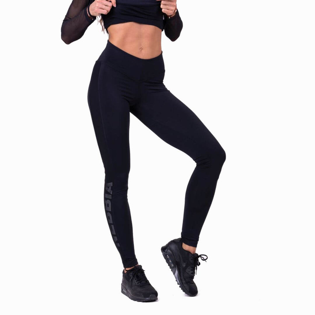 Nebbia Flash Mesh Tights Black