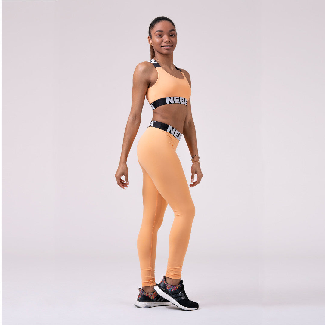 Nebbia Squad Hero Scrunch Butt Leggings Apricot