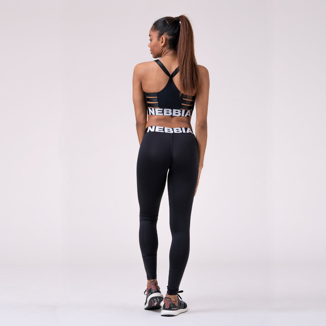 Nebbia Squad Hero Scrunch Butt Leggings Black