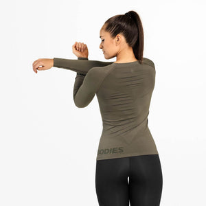Nolita Seamless Ls Washed Green