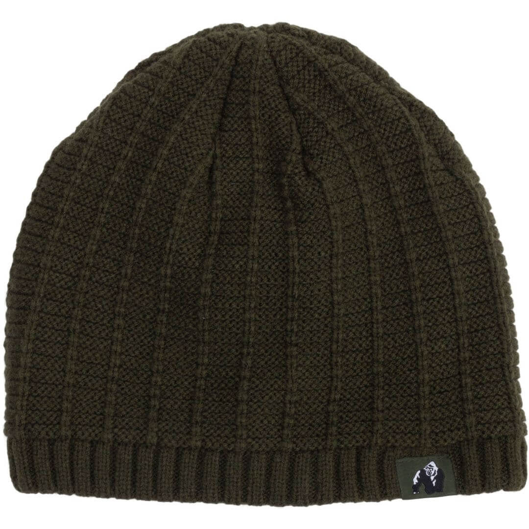 Norman Beanie Army Green