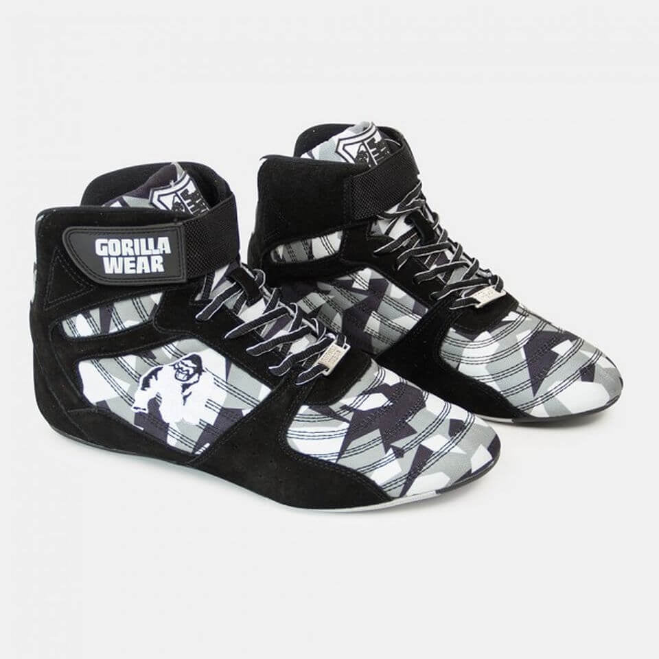 Perry High Tops Pro Black Grey Camo