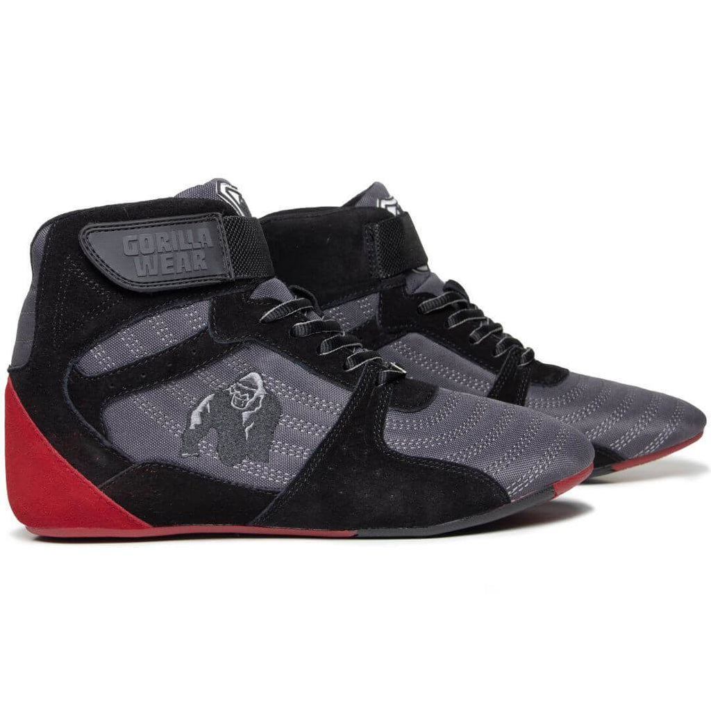 Perry High Tops Pro Grey Black Red