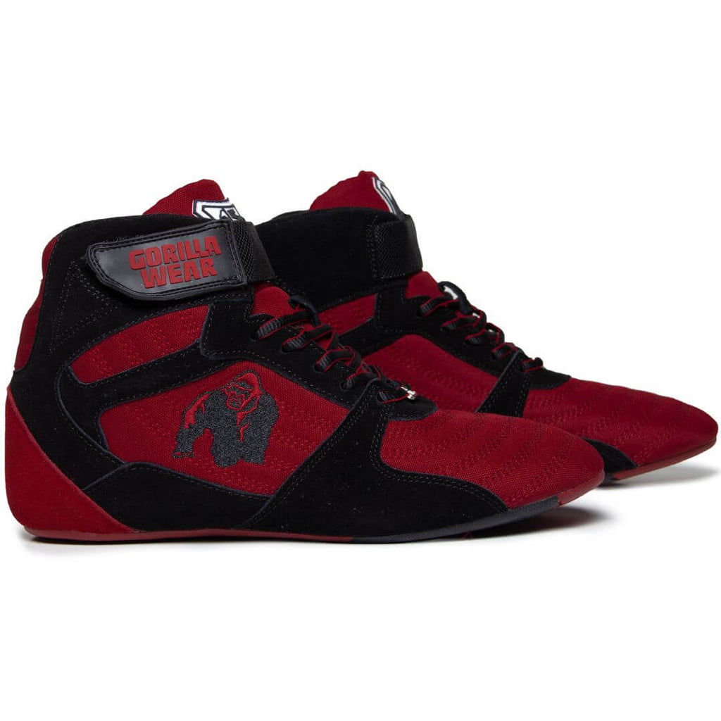 Perry High Tops Pro Red Black