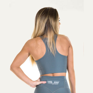 Plain Sports Bra Pale Dove