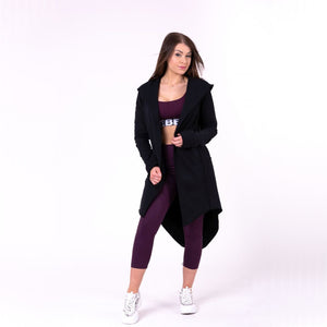 Nebbia Rebel Tail Coat Jacket Black