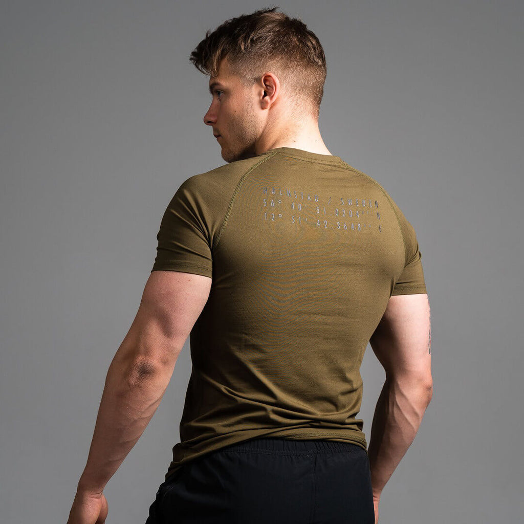 Khaki T Shirt Green