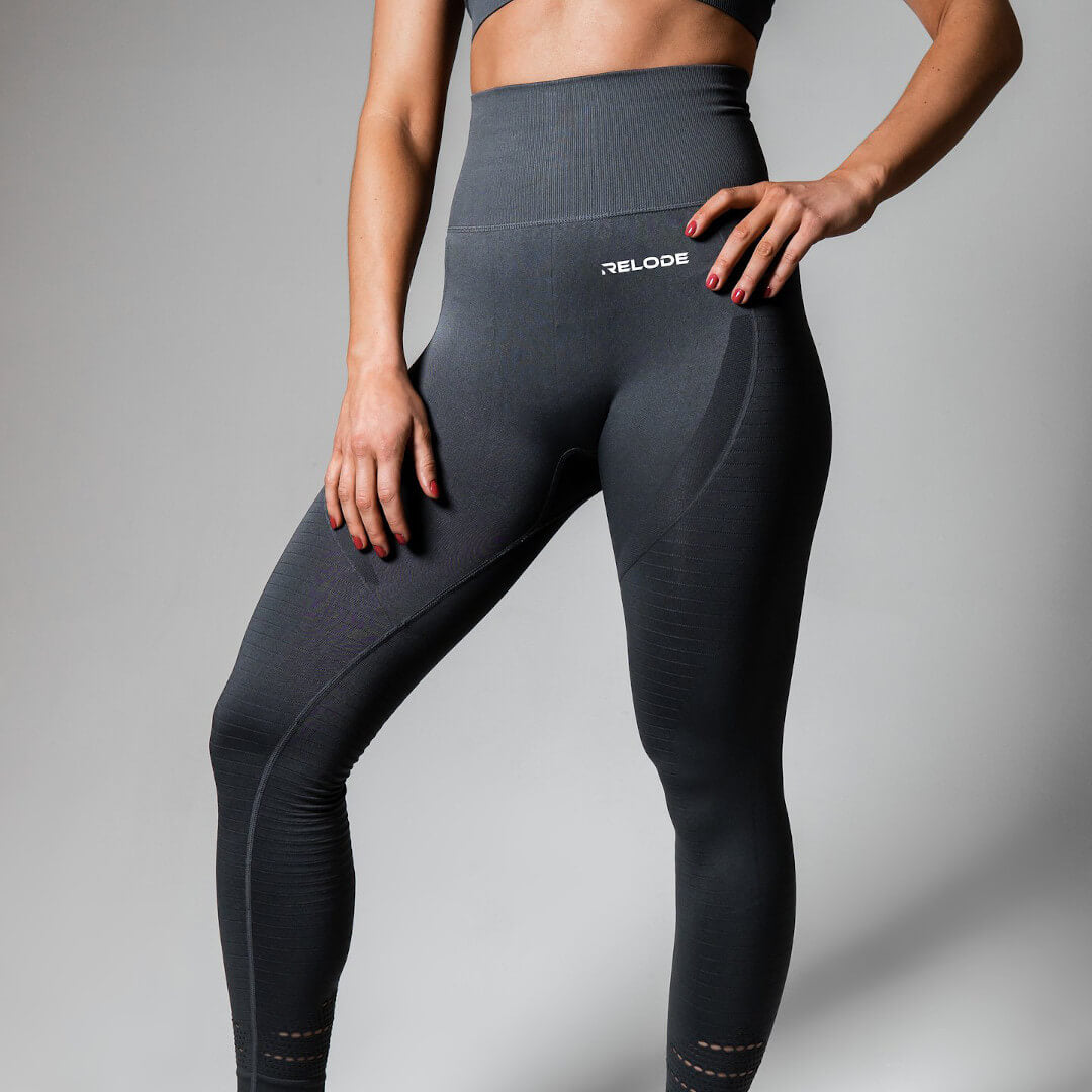 Relode Seamless Power Tights Grey