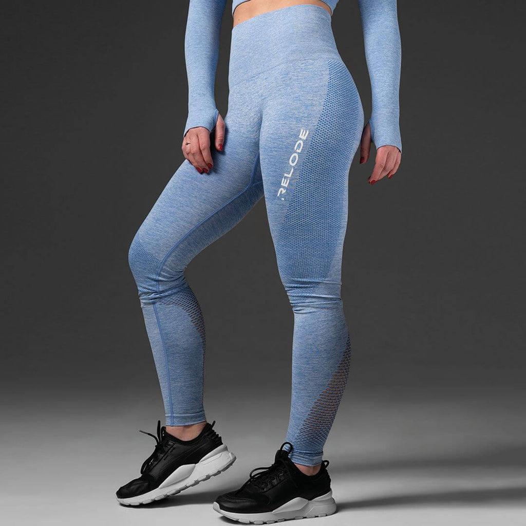 Relode Seamless Tights Blue