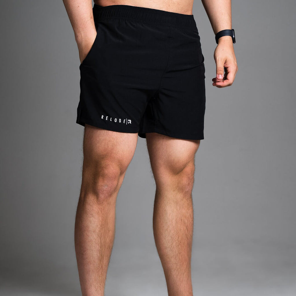 Minimalist Swim Shorts Black