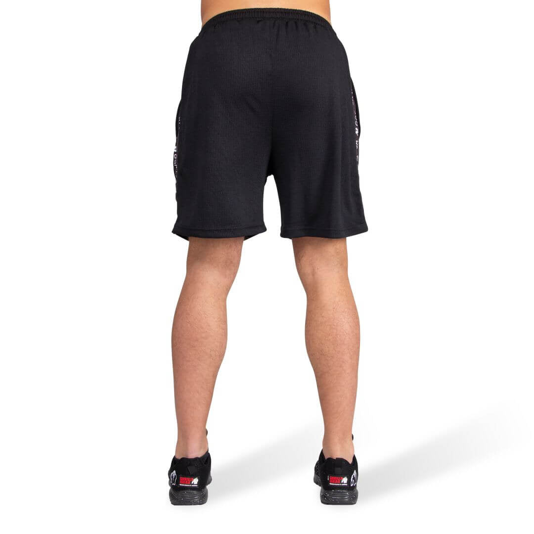Reydon Mesh Shorts Black