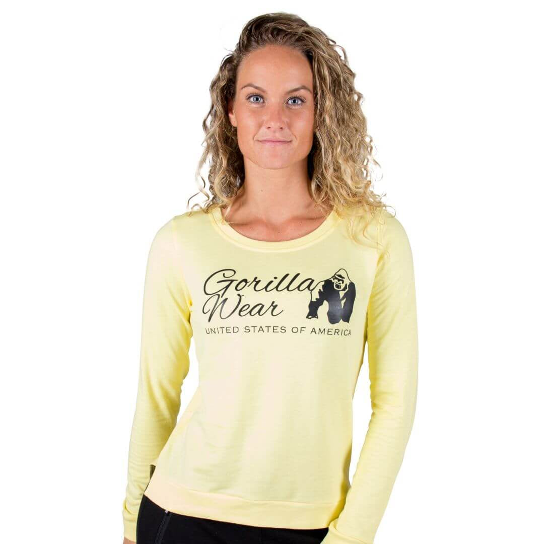 Riviera Sweatshirt Light Yellow