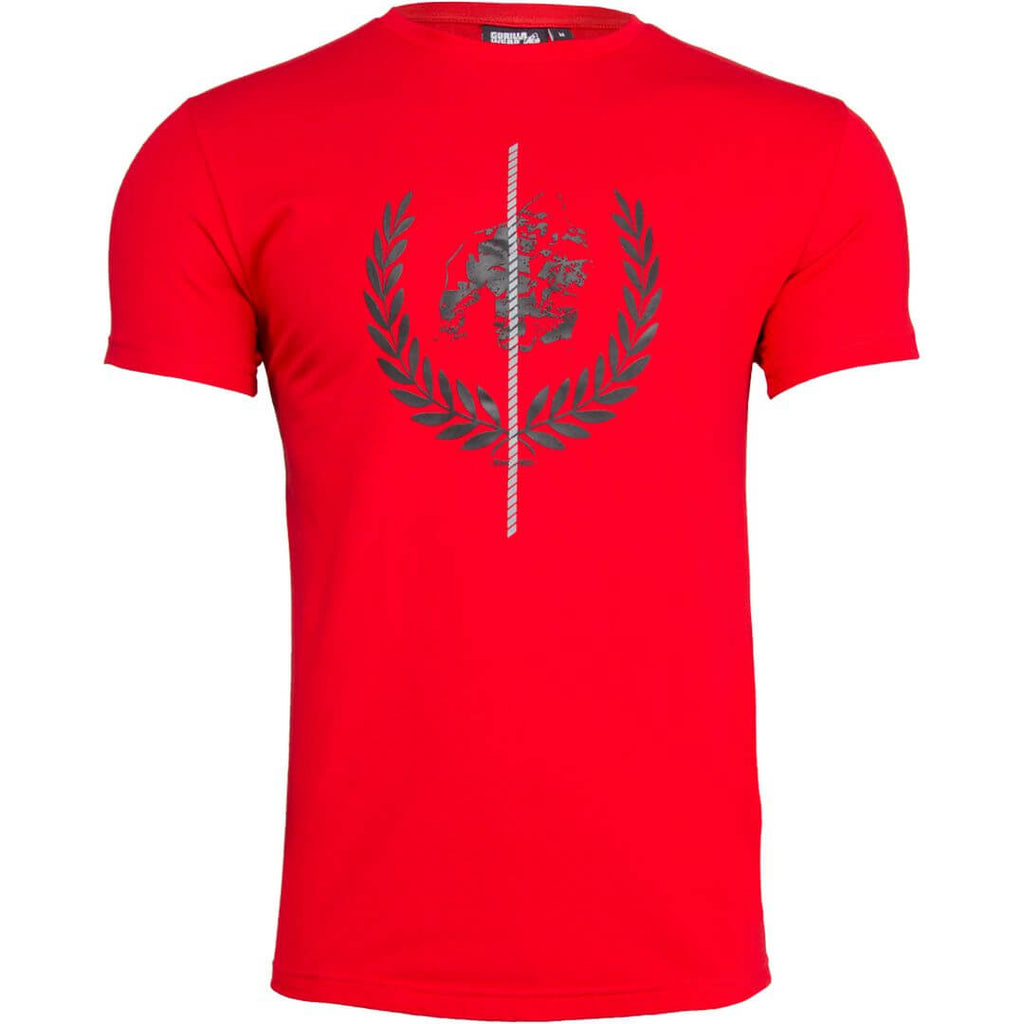 Rock Hill T Shirt Red