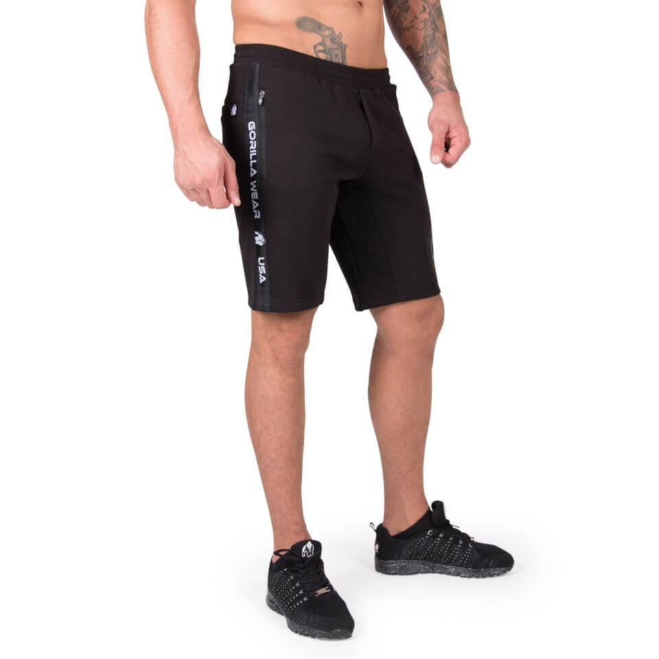 Saint Thomas Sweatshorts Black