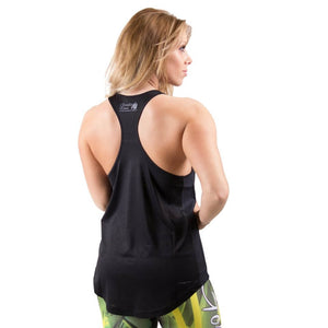 Santa Monica Tank Top Black Grey