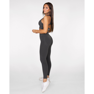 Gavelo Seamless Booster Gun Metal Tights