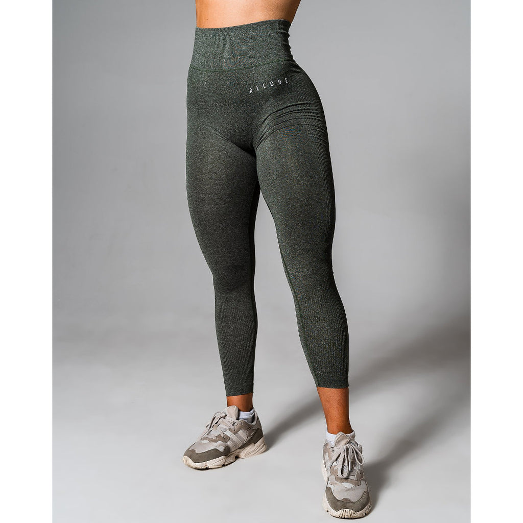 Front Relode Slipstream Tights Green