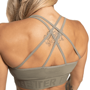 Gym Sports Bra Green Camo
