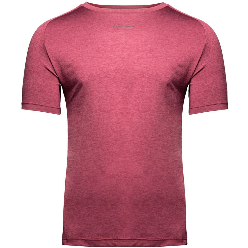 Taos T Shirt Burgundy Red