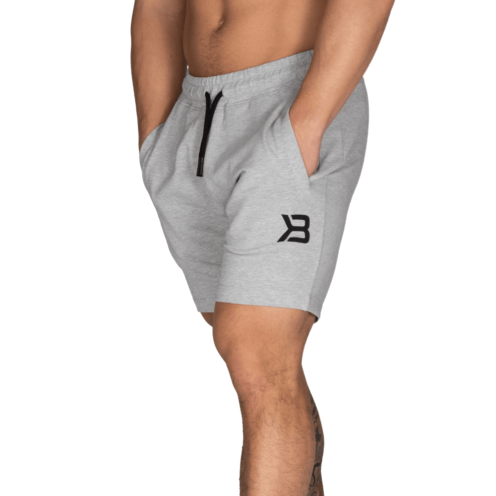 Tapered Sweatshorts Light Grey Melange
