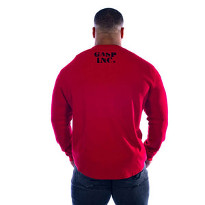 Thermal Gym Sweater Chili Red