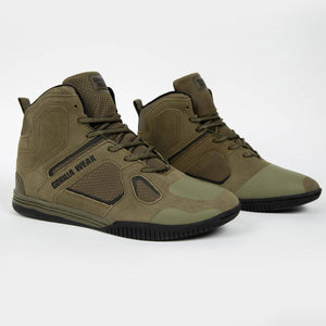 Troy High Tops army green