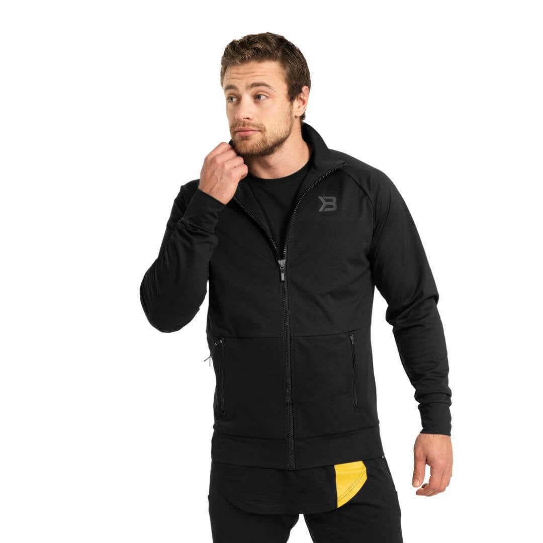 Varick Zip Jacket Black