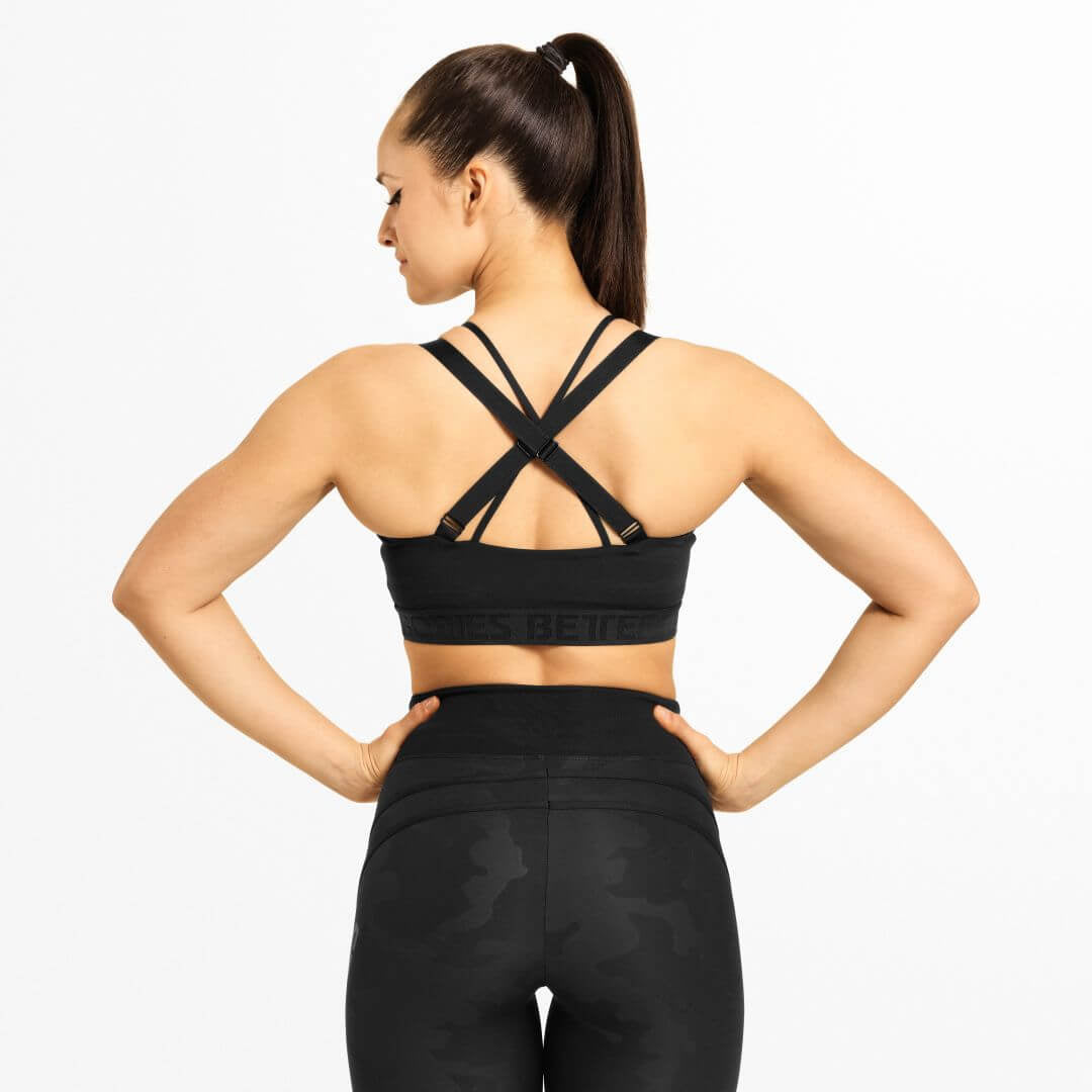 Waverly Sports Bra Black
