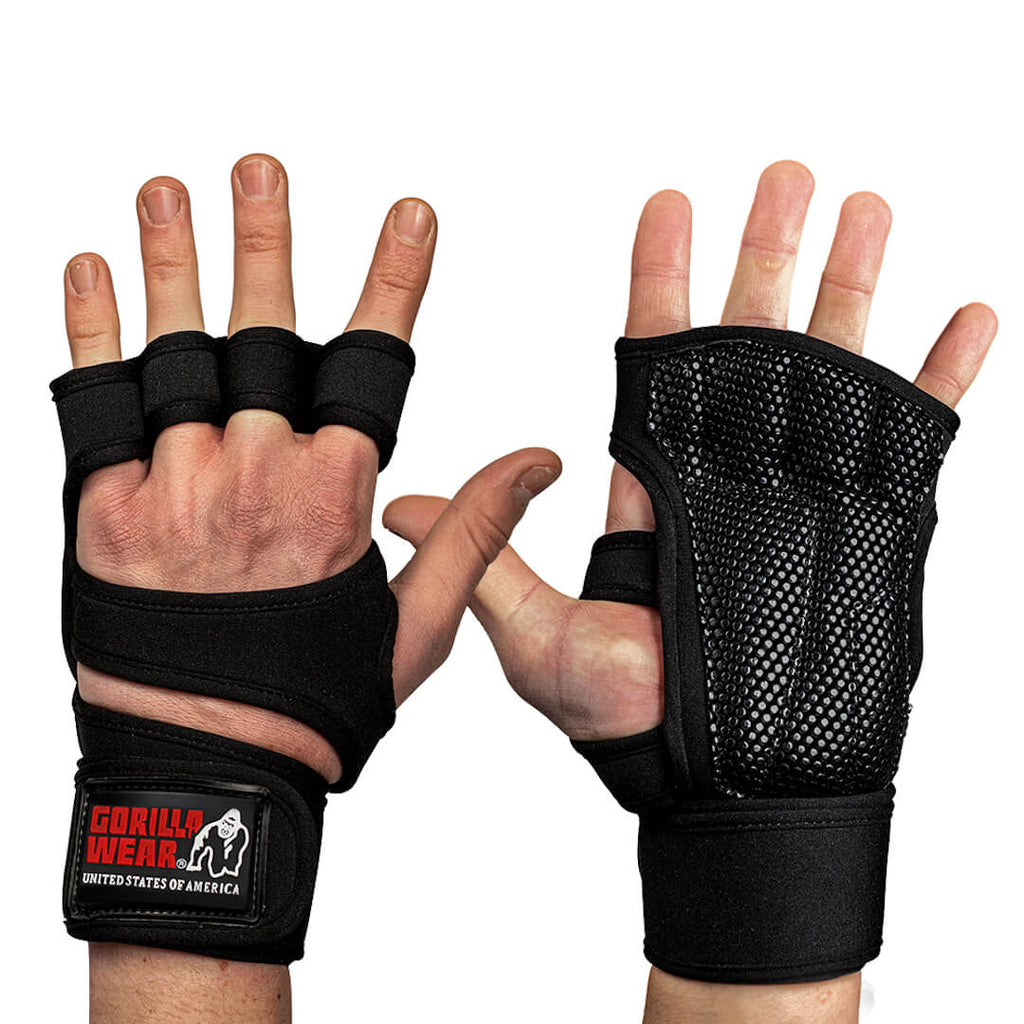 Yuma Weightlifting Workout Gloves Black