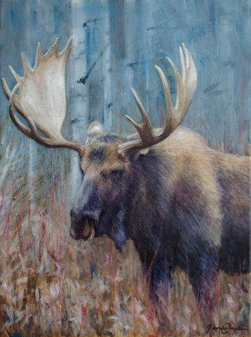 Fall Moose Study - Open Edition